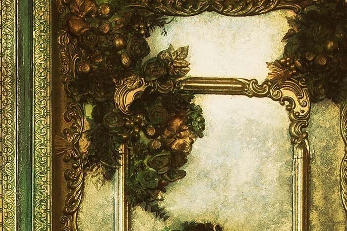 Hintergrund Barock Detail
